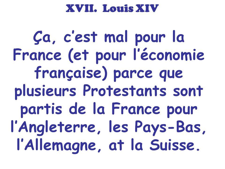 XVII. Louis XIV