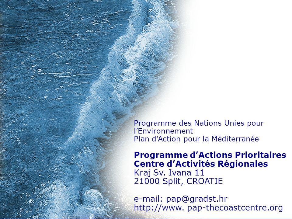 Programme d'Actions Prioritaires Centre d'Activités Régionales
