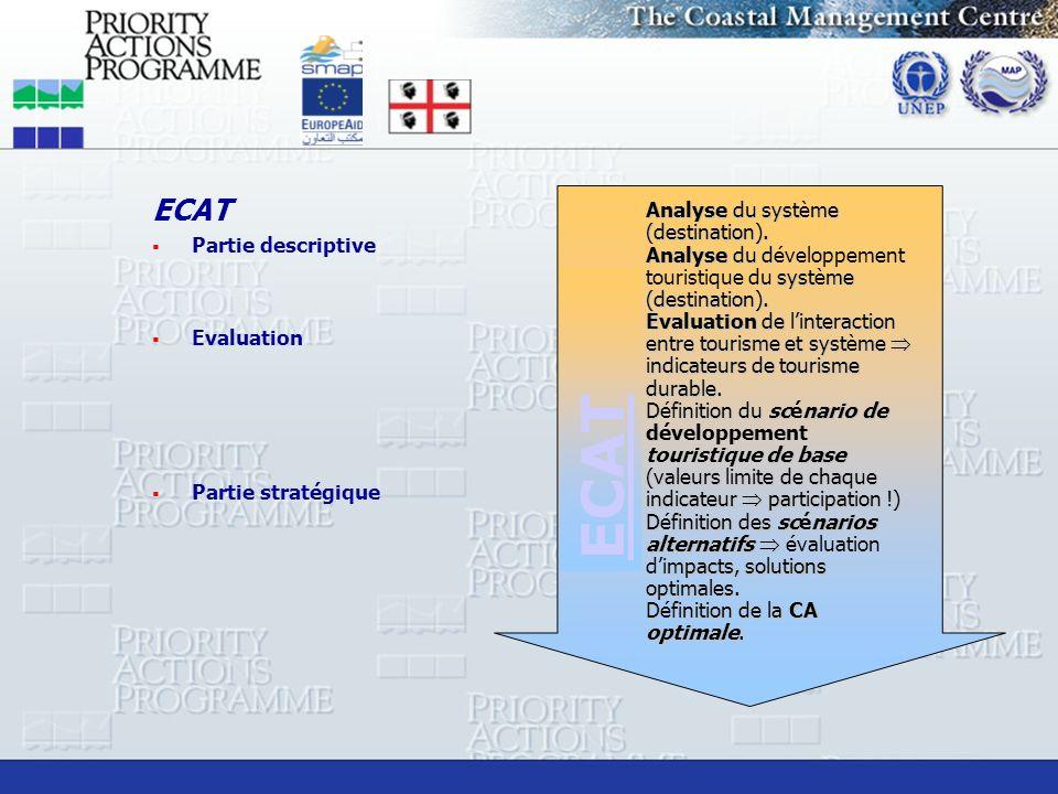 ECAT ECAT Partie descriptive Evaluation Partie stratégique