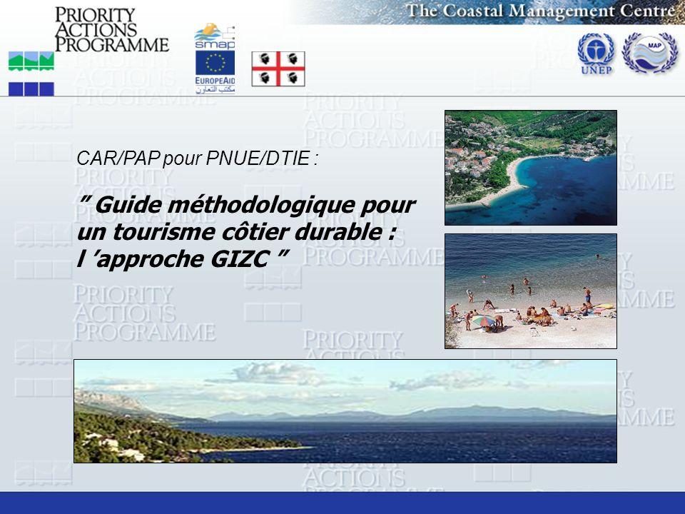Guide méthodologique pour un tourisme côtier durable :