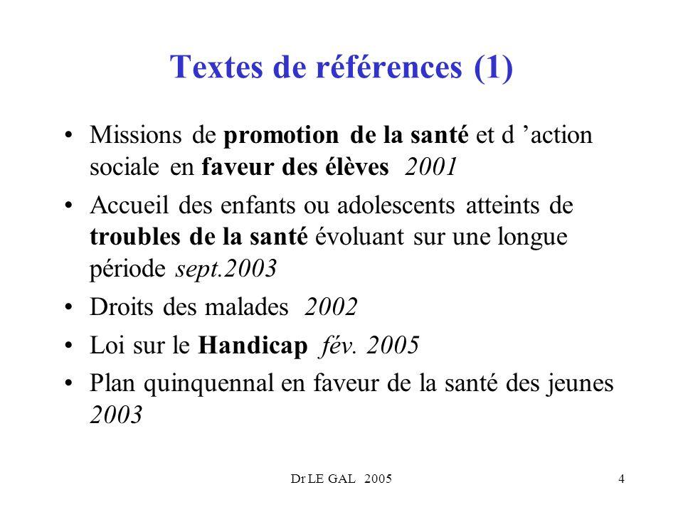 Textes de références (1)