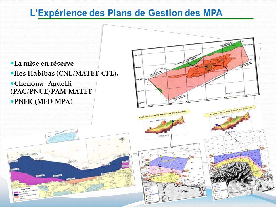 L'Expérience des Plans de Gestion des MPA