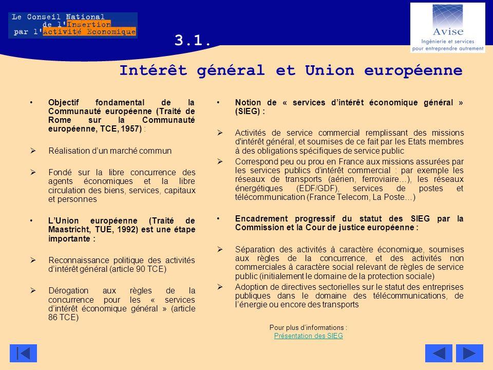 Intérêt général et Union européenne