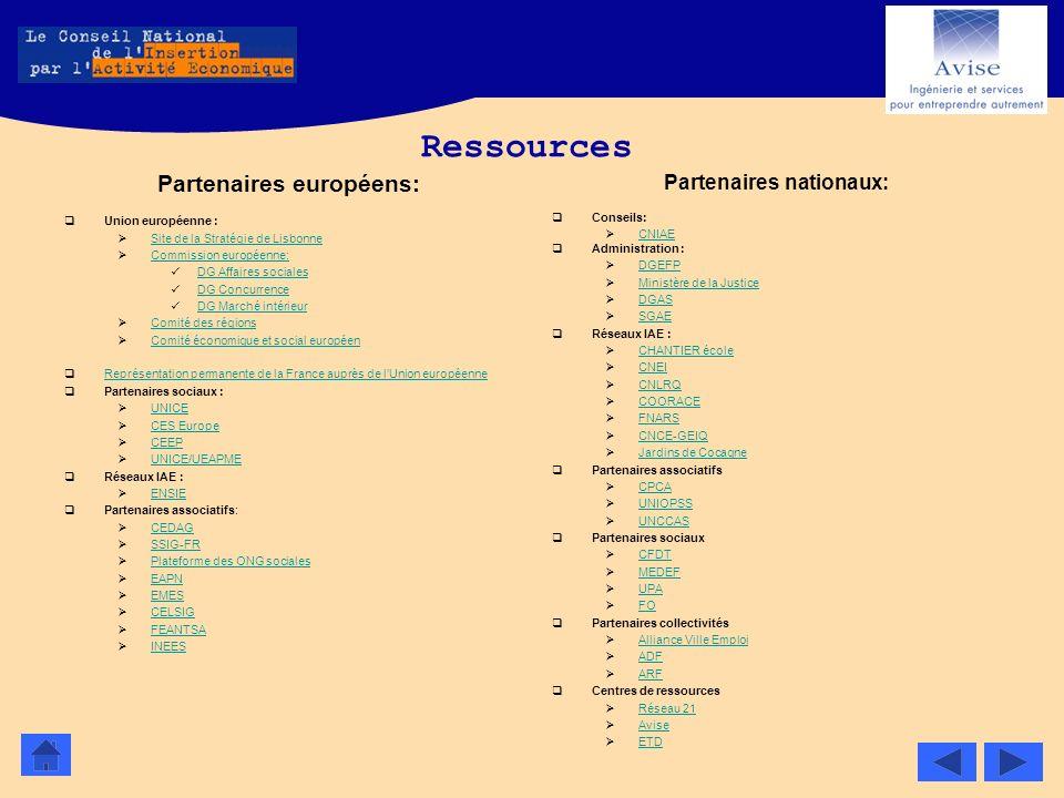 Partenaires européens: Partenaires nationaux: