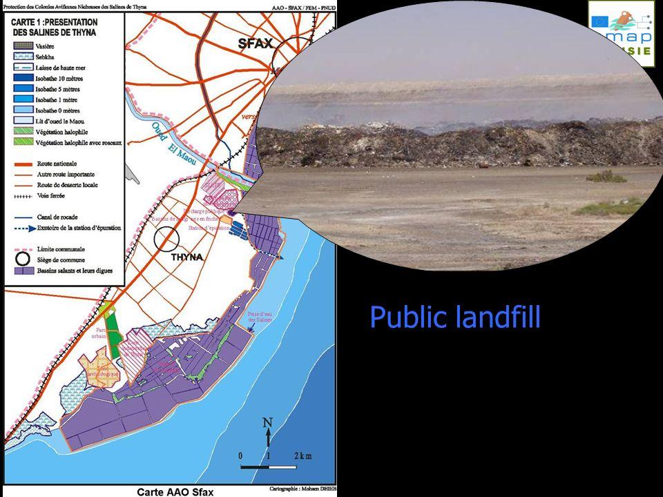 Public landfill