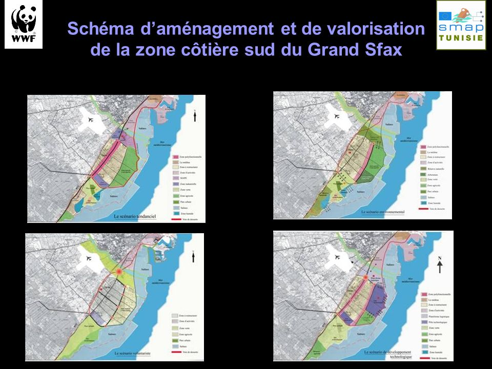 Schéma d'aménagement et de valorisation de la zone côtière sud du Grand Sfax