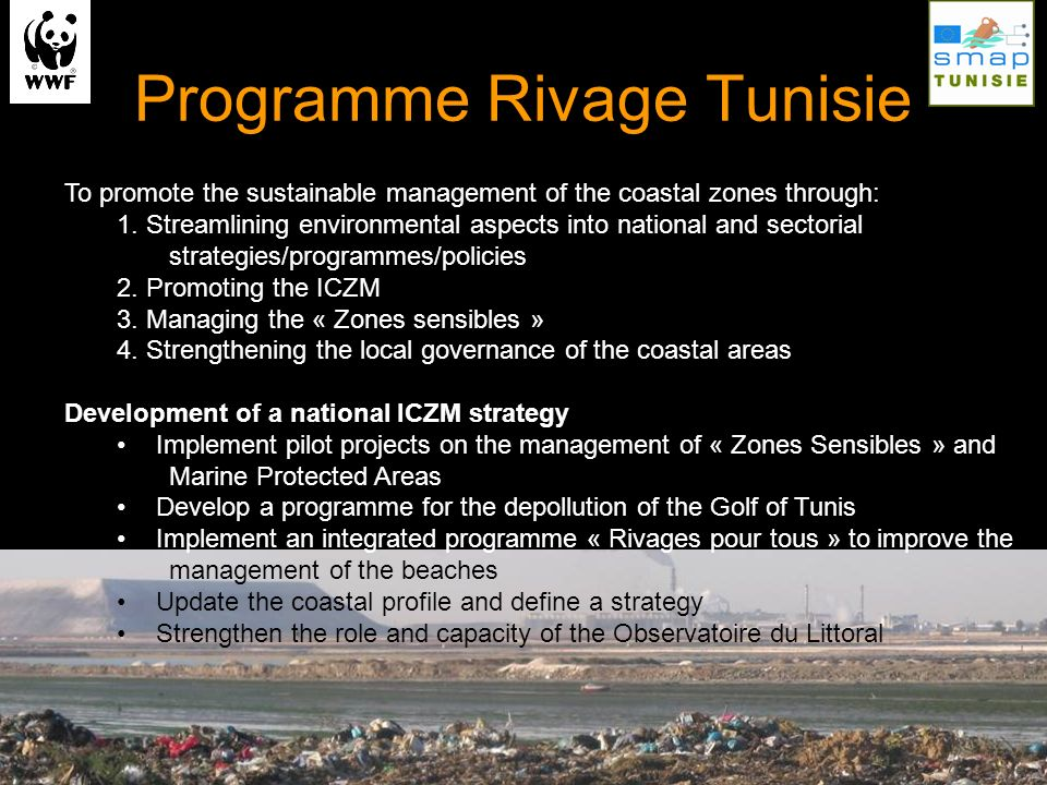 Programme Rivage Tunisie