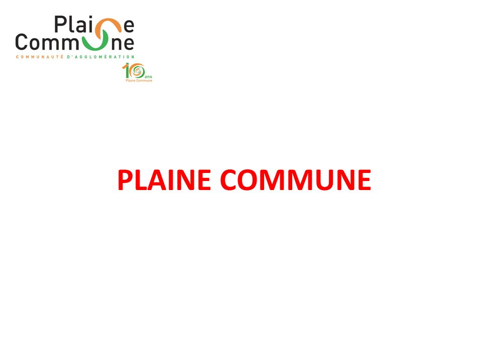 PLAINE COMMUNE