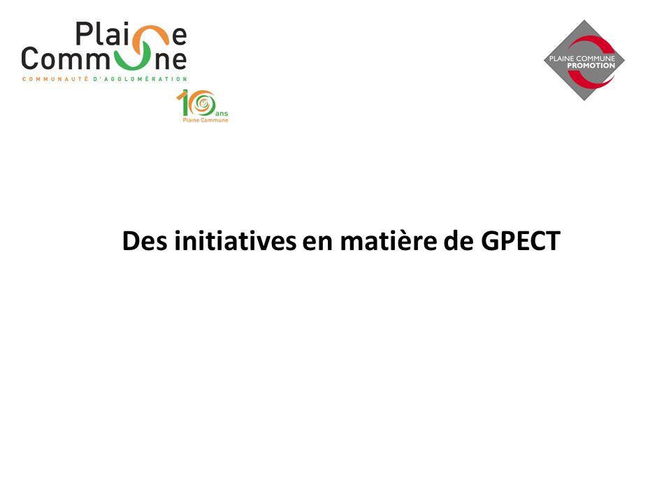 Des initiatives en matière de GPECT