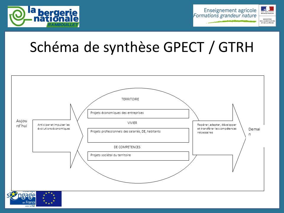 Schéma de synthèse GPECT / GTRH