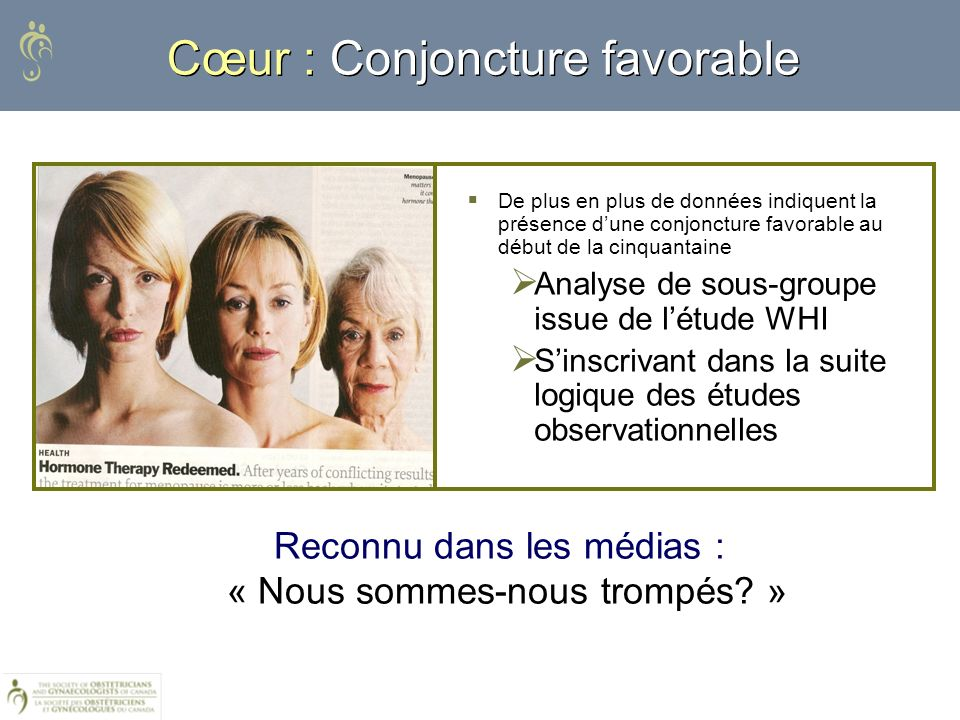 Cœur : Conjoncture favorable
