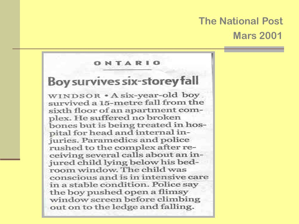 The National Post Mars 2001