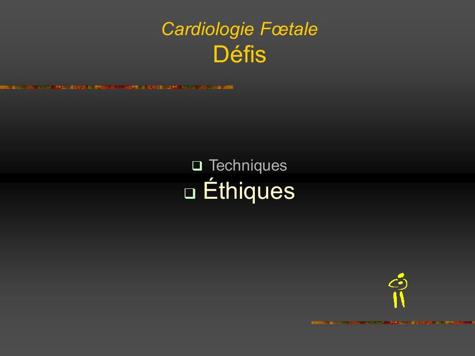 Cardiologie Fœtale Défis