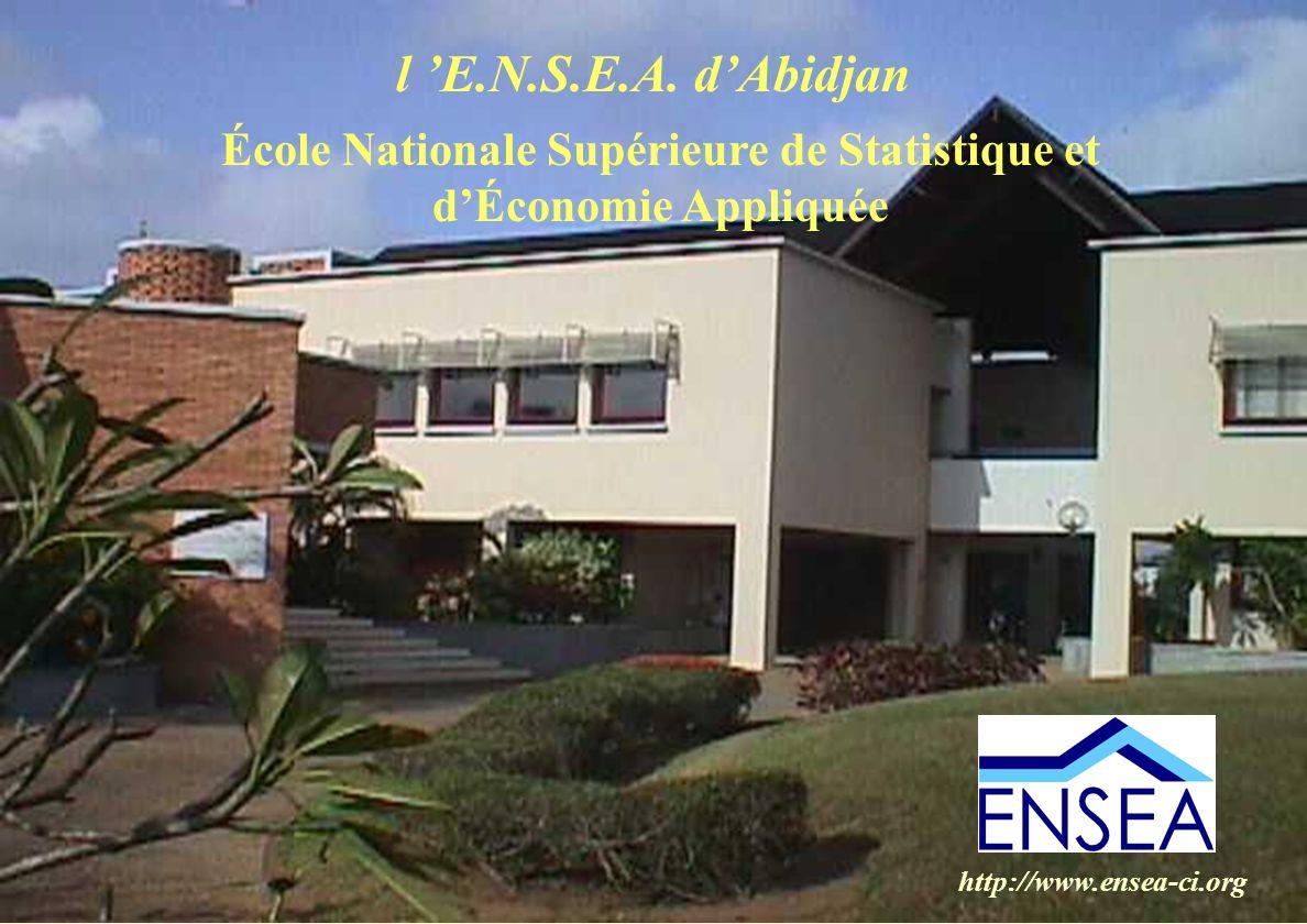 École Nationale Supérieure de Statistique et d'Économie Appliquée