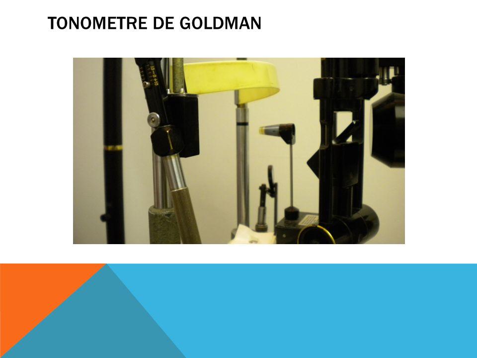 Tonometre de Goldman