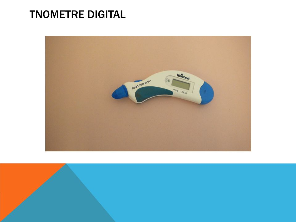 Tnometre digital