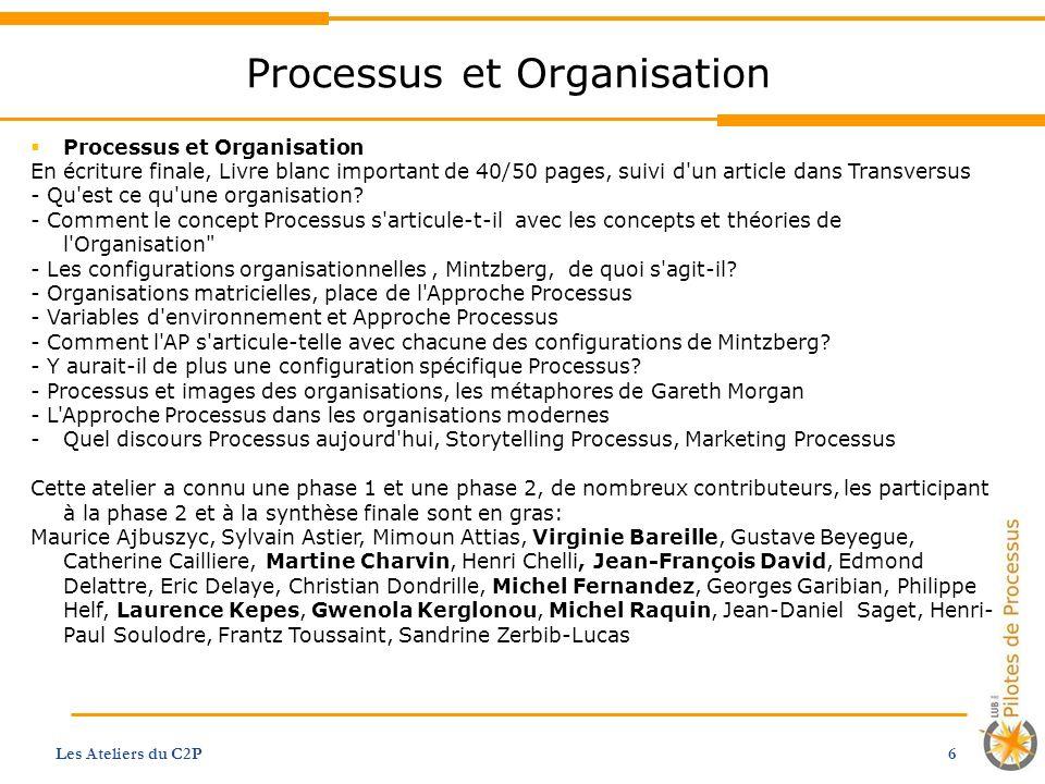 Processus et Organisation