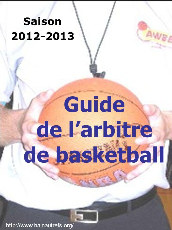 Guide de l'arbitre de basketball