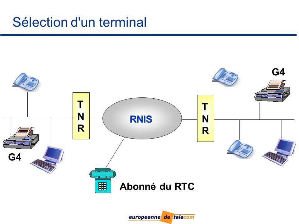 Sélection d un terminal