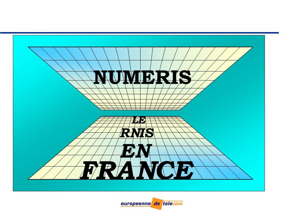 LE RNIS EN FRANCE NUMERIS