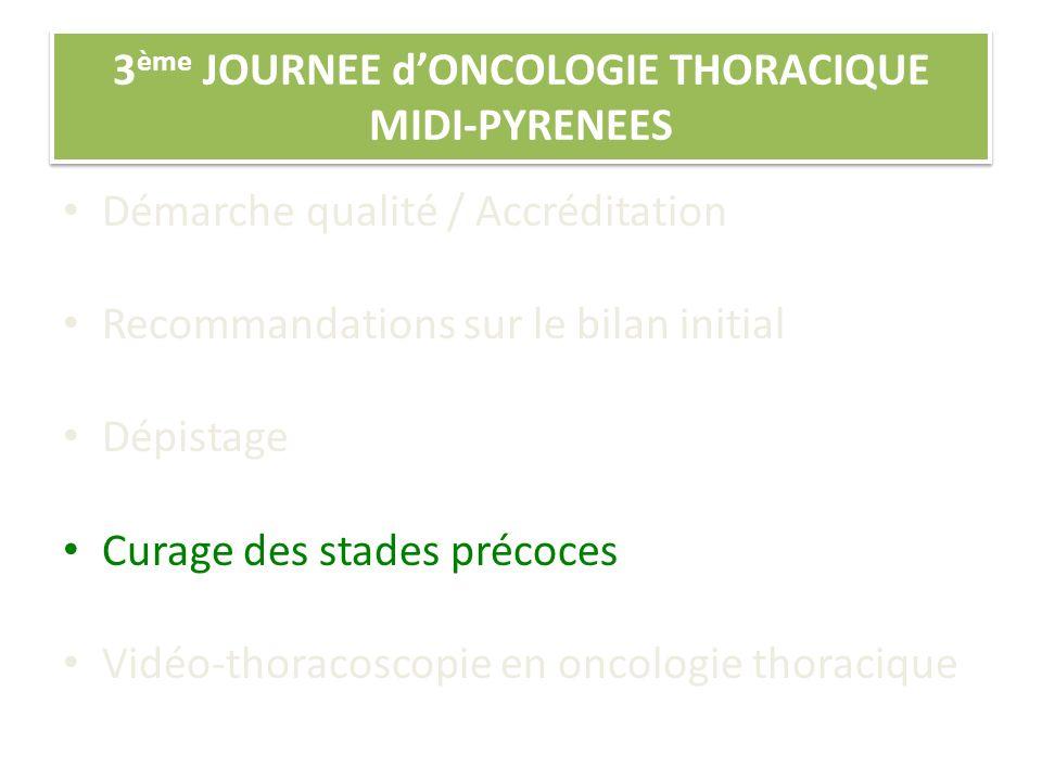 3ème JOURNEE d'ONCOLOGIE THORACIQUE MIDI-PYRENEES