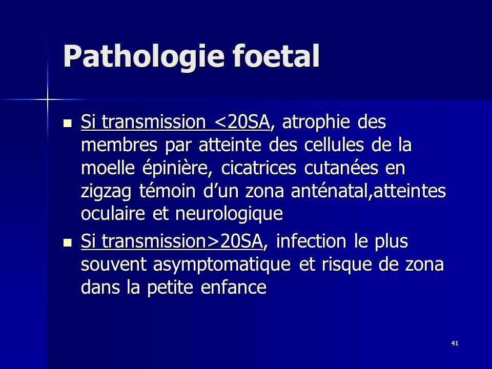 Pathologie foetal