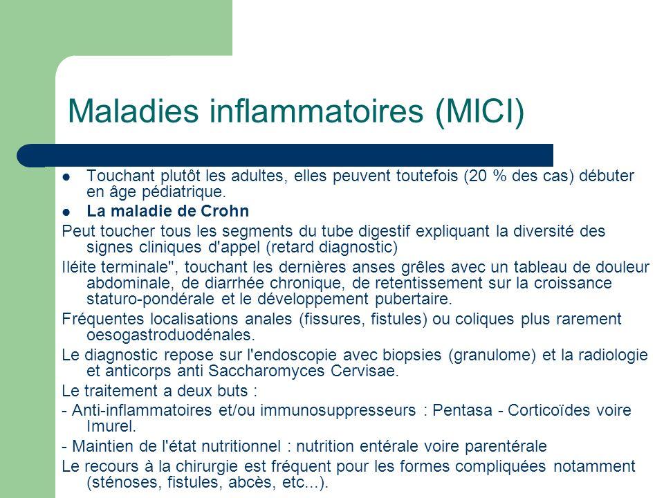 Maladies inflammatoires (MICI)