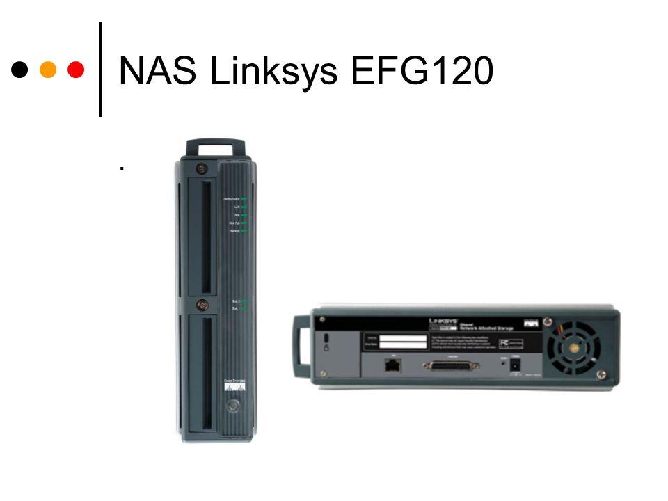 NAS Linksys EFG120 .