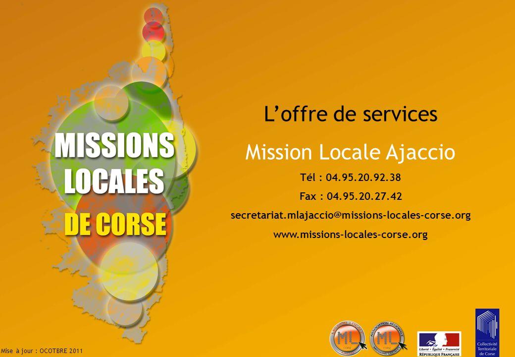 Mission Locale Ajaccio