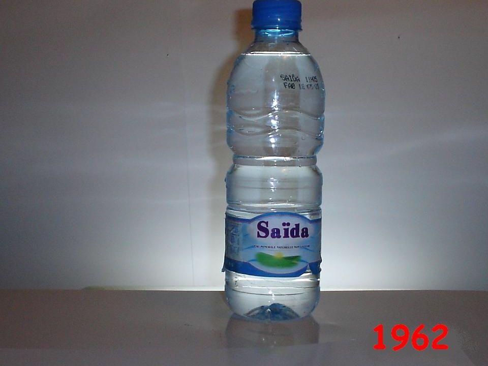 Le problème ne se posait pas dans les années 60 avec le quasi monopole représenté par l eau minérale de la région de Saïda devenu terme générique pour désigner toute eau minérale