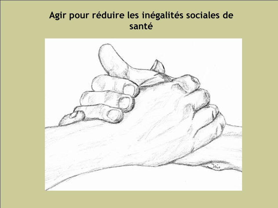 Agir pour réduire les inégalités sociales de santé