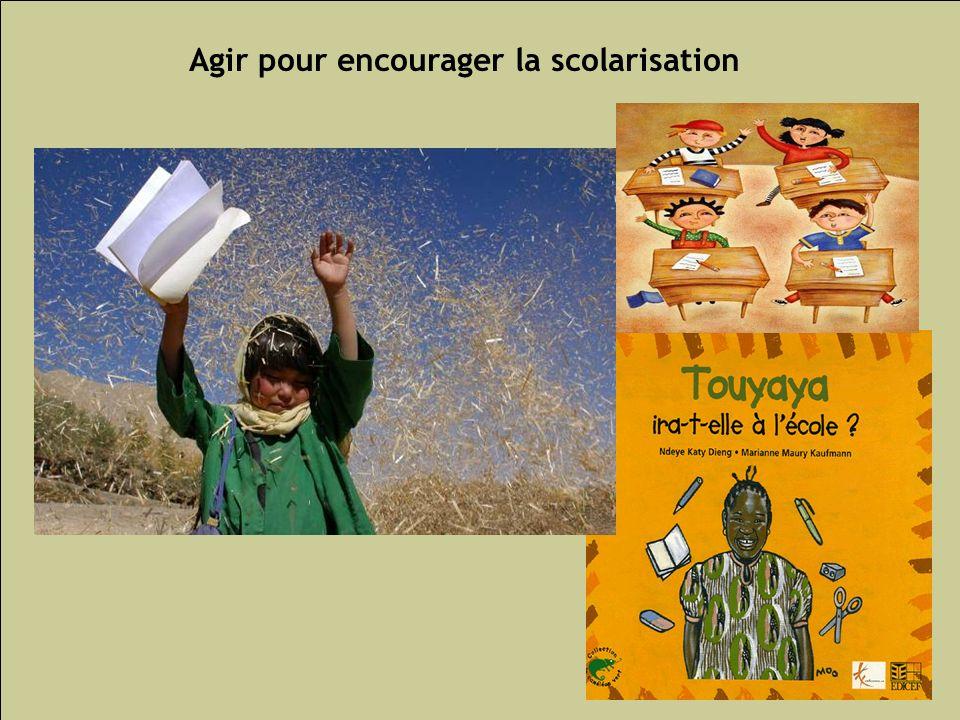 Agir pour encourager la scolarisation