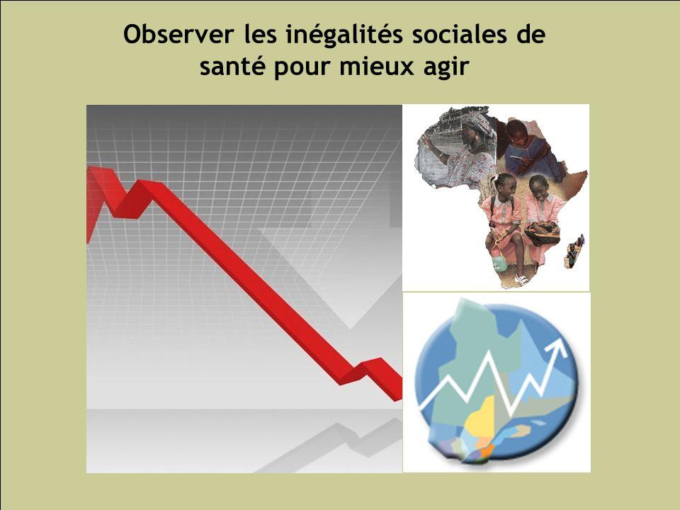 Observer les inégalités sociales de santé pour mieux agir