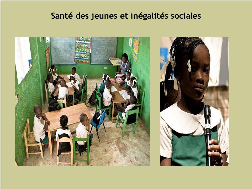 Santé des jeunes et inégalités sociales