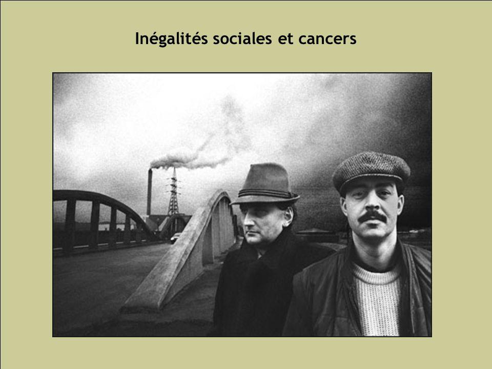 Inégalités sociales et cancers