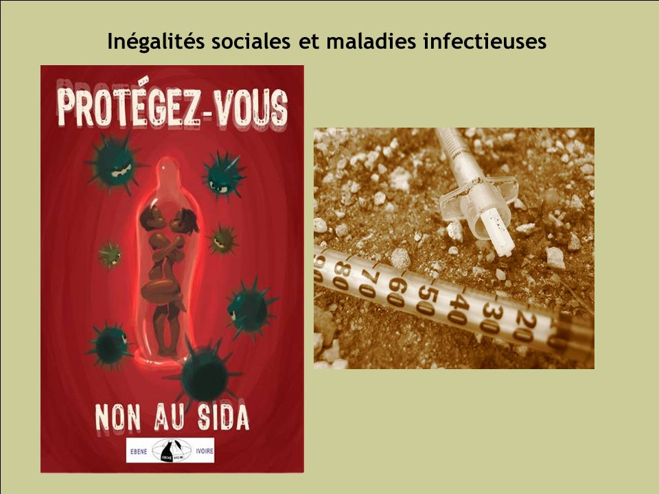 Inégalités sociales et maladies infectieuses
