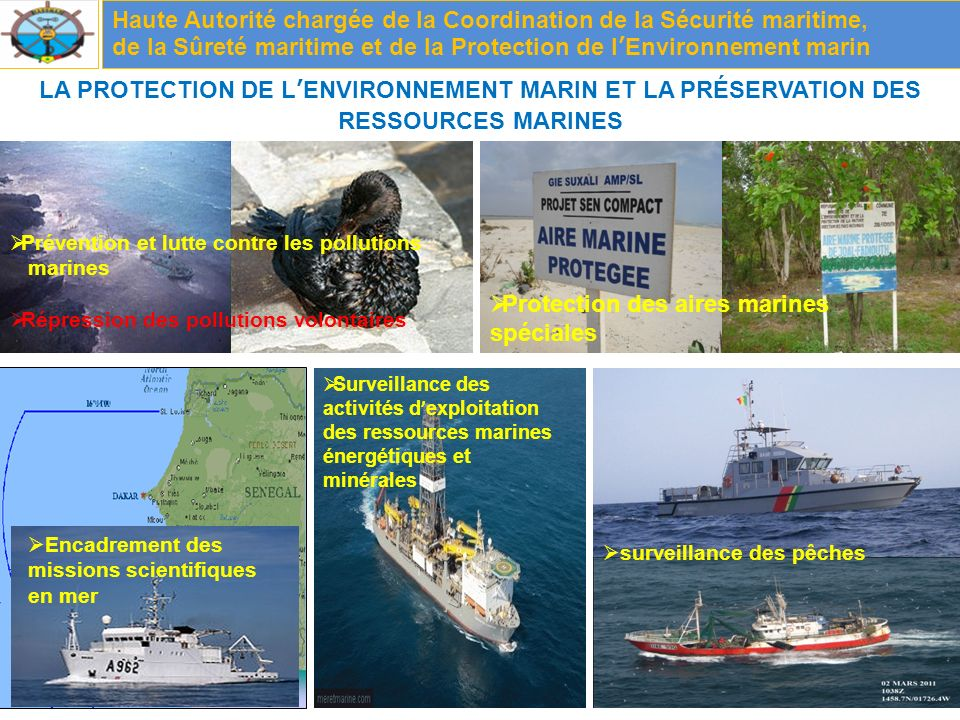 Protection des aires marines spéciales