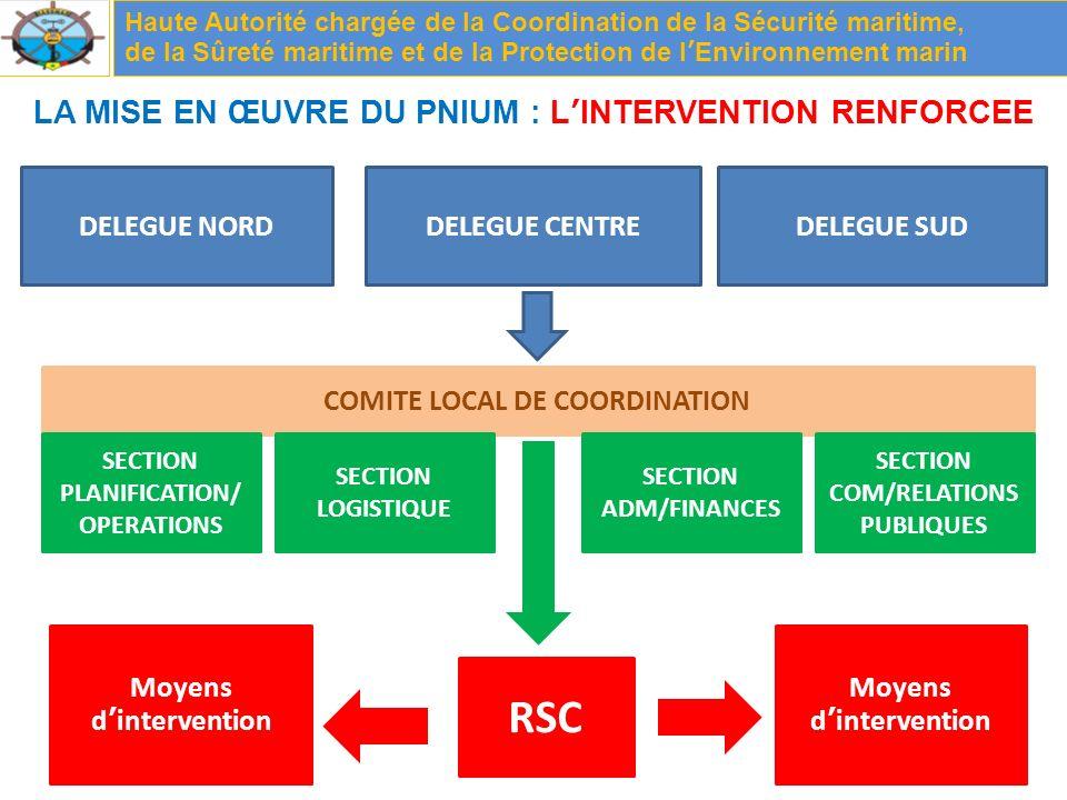 RSC LA MISE EN ŒUVRE DU PNIUM : L'INTERVENTION RENFORCEE DELEGUE NORD