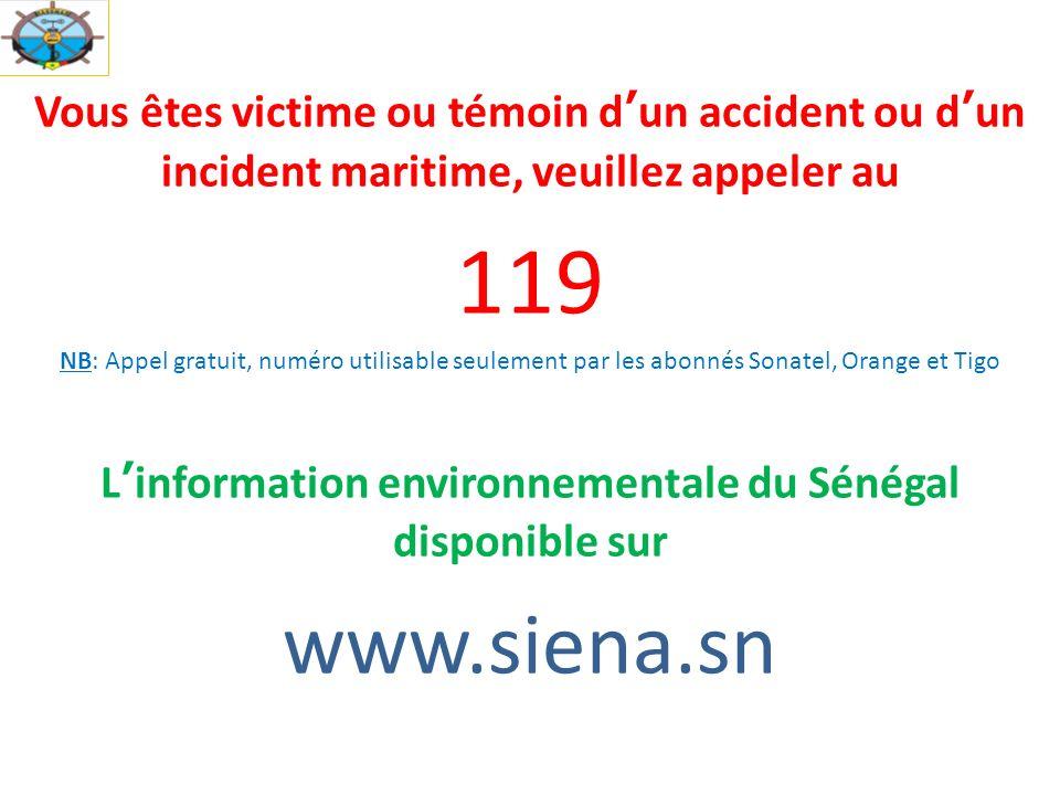 L'information environnementale du Sénégal disponible sur