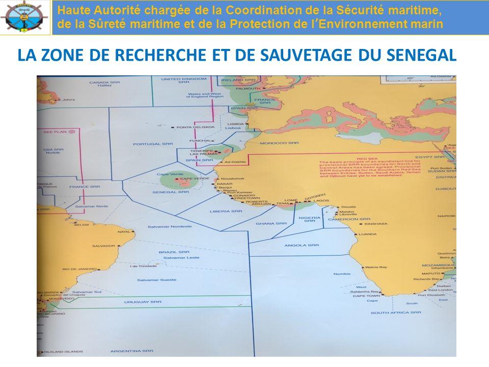 LA ZONE DE RECHERCHE ET DE SAUVETAGE DU SENEGAL