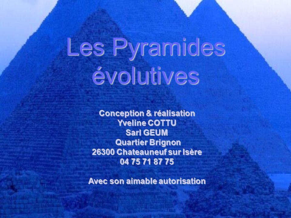 Les Pyramides évolutives