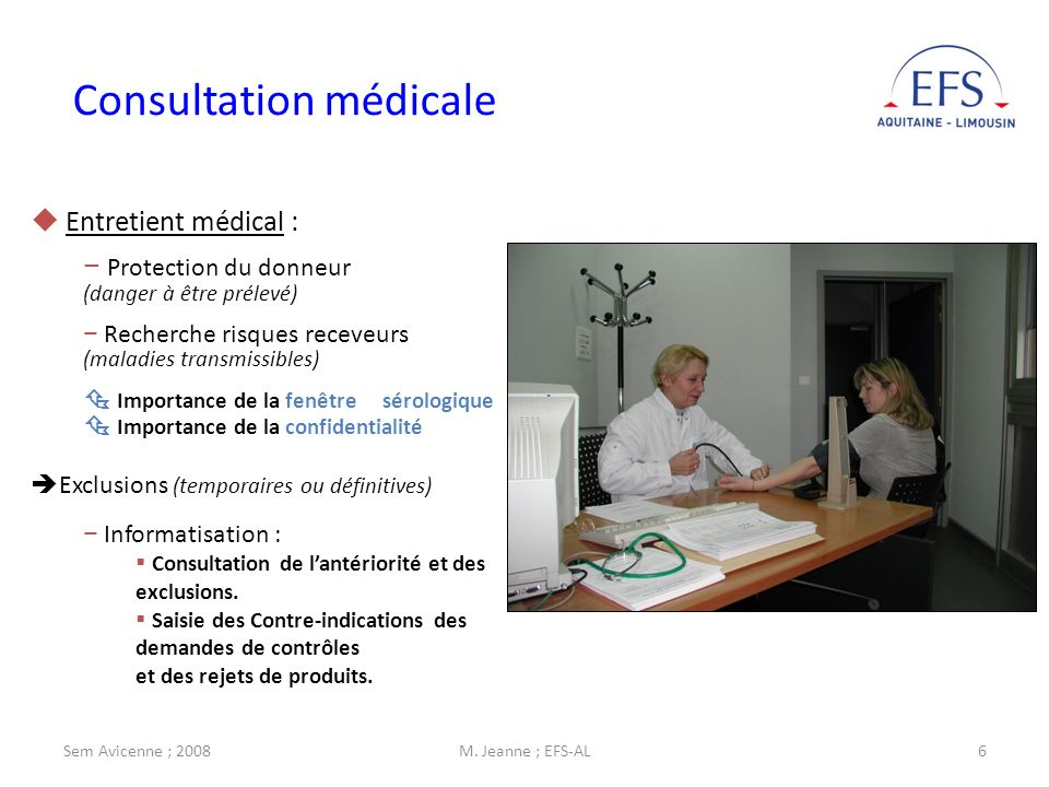 Dr michel jeanne directeur adjoint efs al ppt video for Fenetre serologique