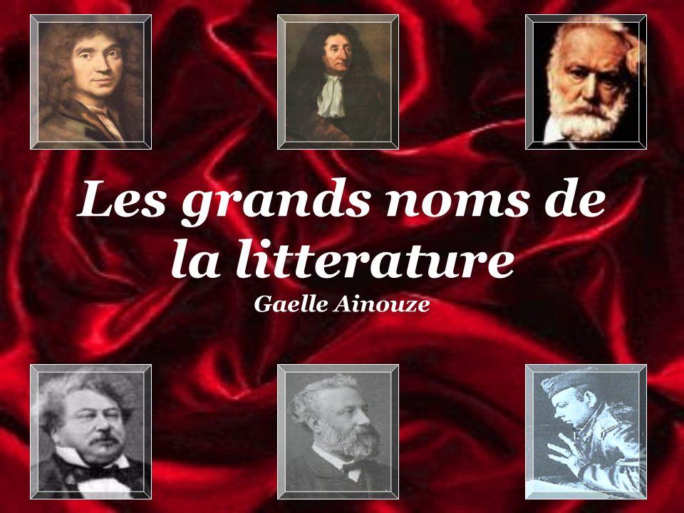 Les grands noms de la litterature Gaelle Ainouze