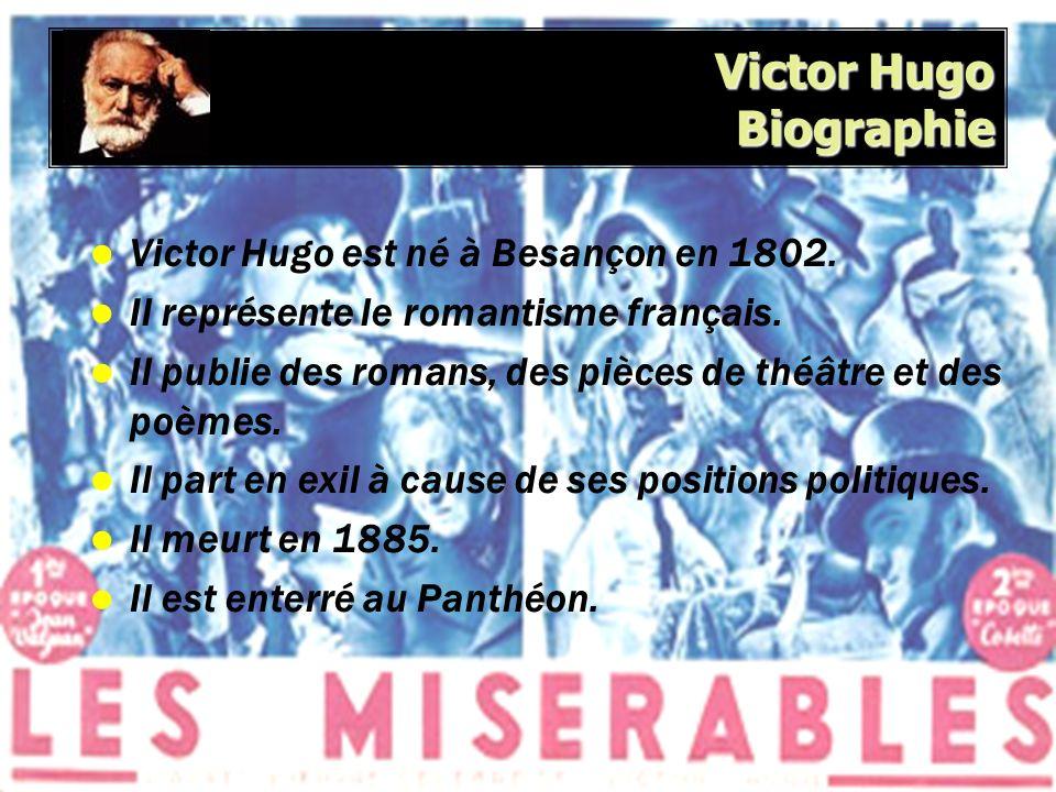 Victor Hugo Biographie