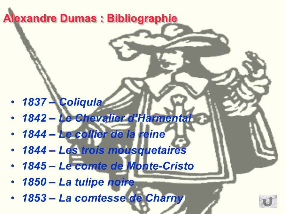 Alexandre Dumas : Bibliographie