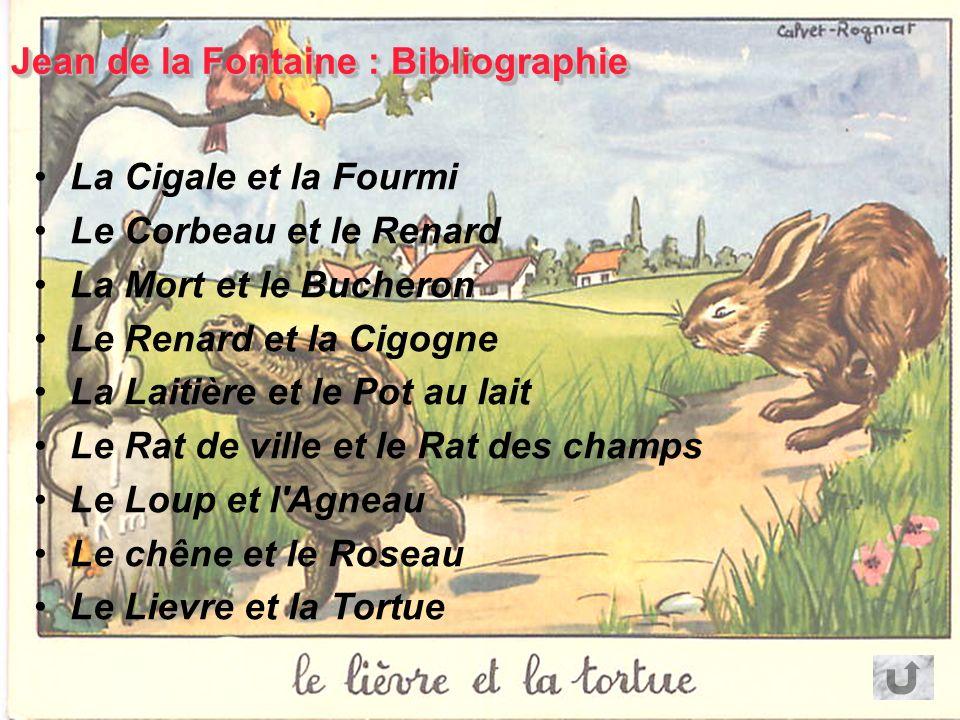 Jean de la Fontaine : Bibliographie