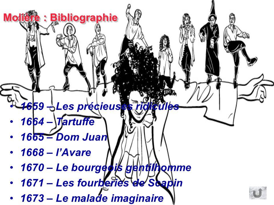 Molière : Bibliographie