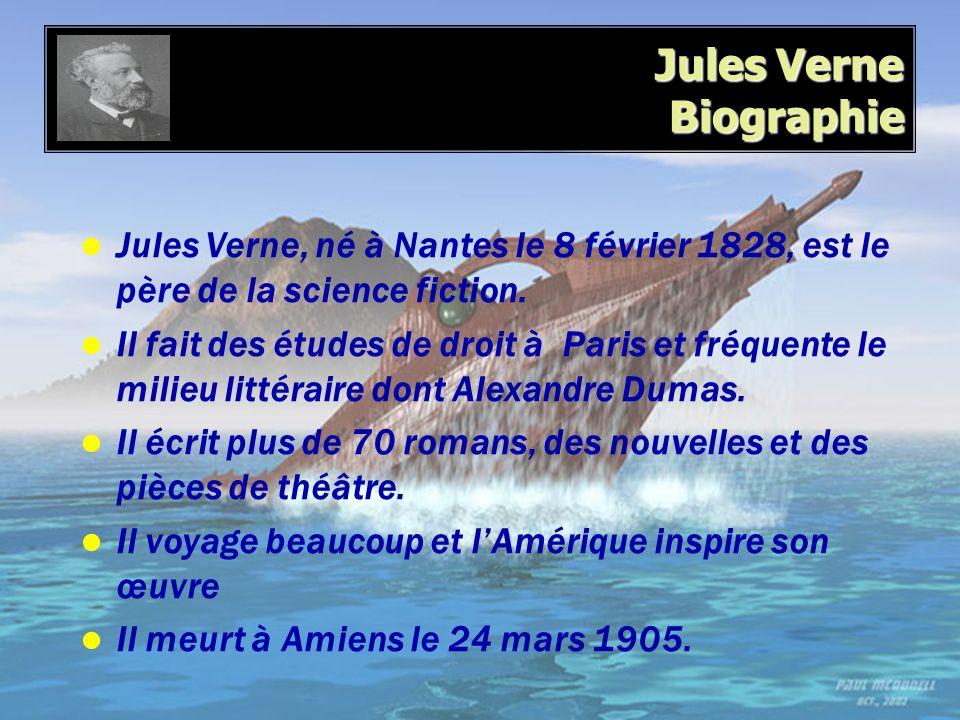 Jules Verne Biographie
