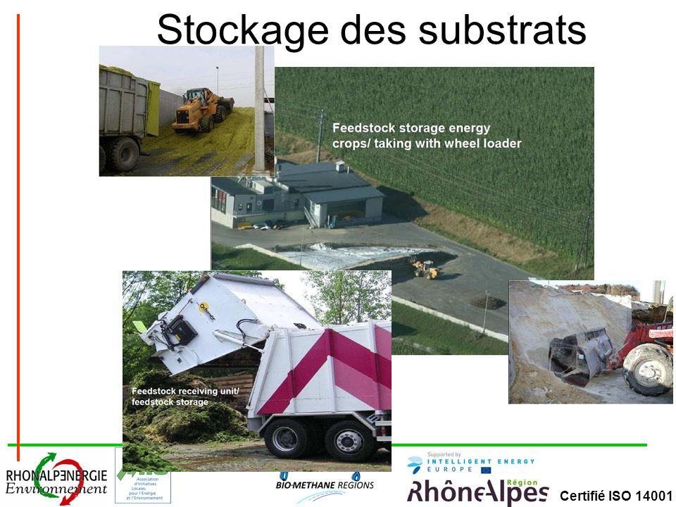 Stockage des substrats
