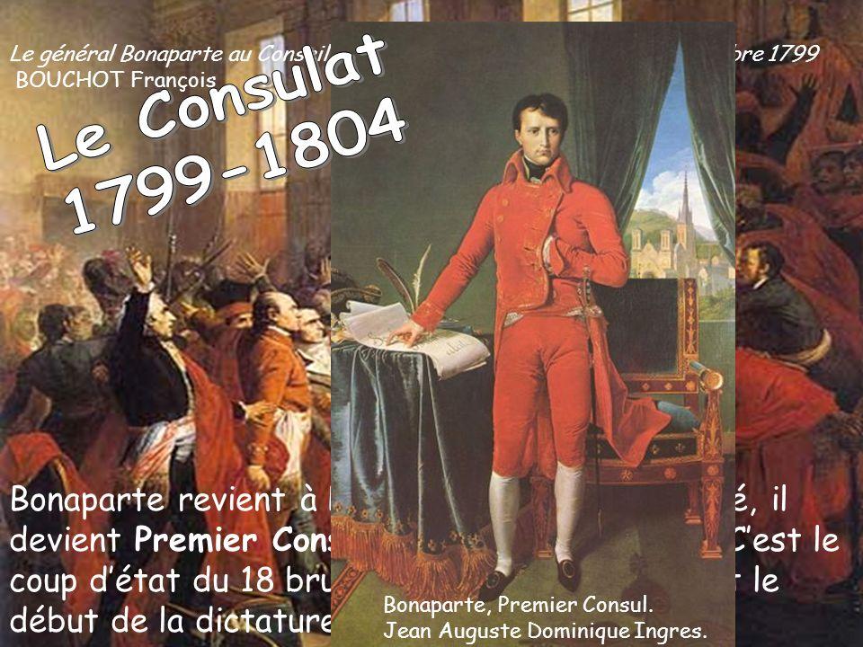Le général Bonaparte au Conseil des Cinq-Cents à Saint-Cloud, 10 novembre 1799 BOUCHOT François